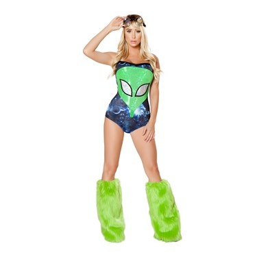 Sexy Galaxy Intruder Costume