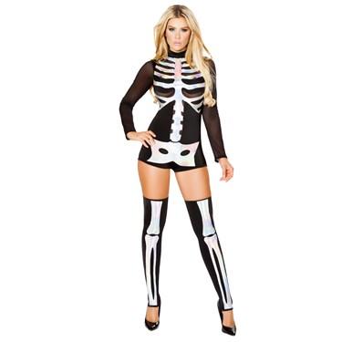 Sexy Jackie Skeleton Costume