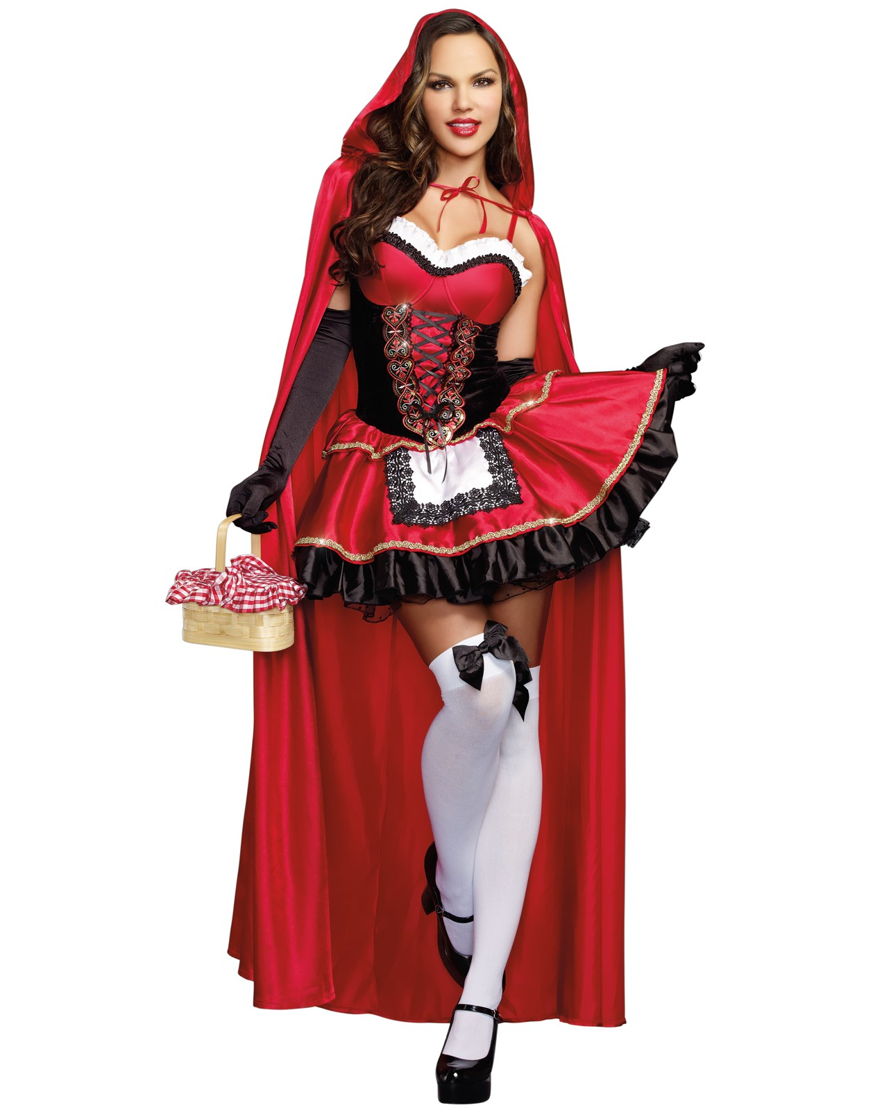 Sexy Little Red Riding Hood Dress - BuyCostumes.com