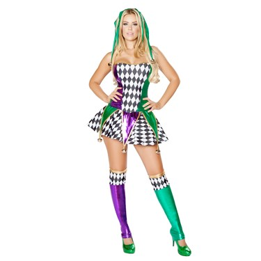 Sexy Mischievous Jester Costume