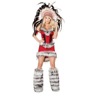 Sexy Native American Babe Costume