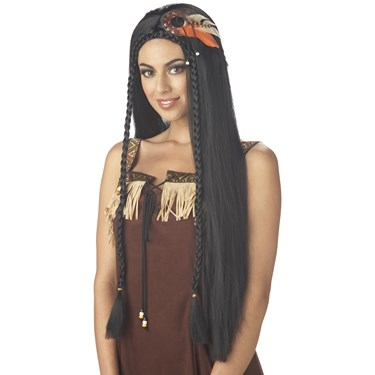 Sexy Native American Princess Wig For Women