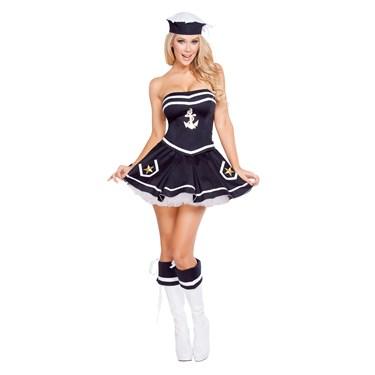 Sexy Naughty Navy Yard Vixen Costume