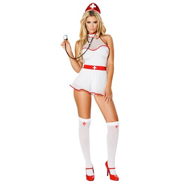 Sexy Naughty Nurse Nightingale Costume