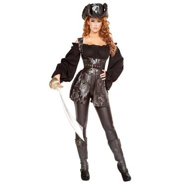 Sexy Pirate of the Night Costume