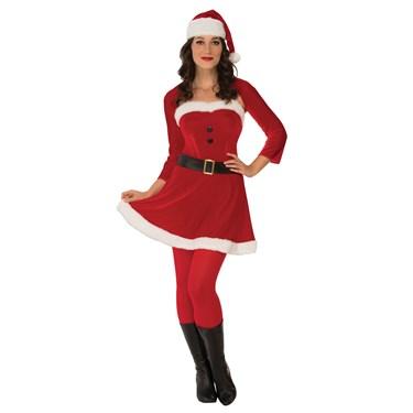 Sexy Santa Babe Womens Costume
