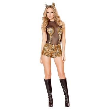 Sexy Seductive Jungle Cat Costume