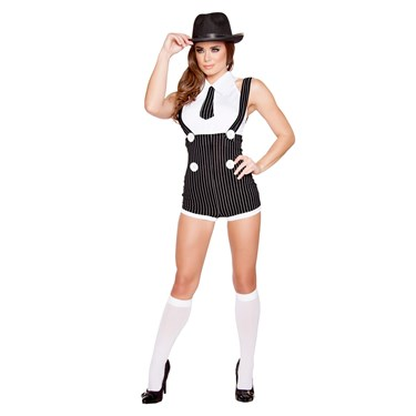Sexy Seductive Mobster Mama Costume