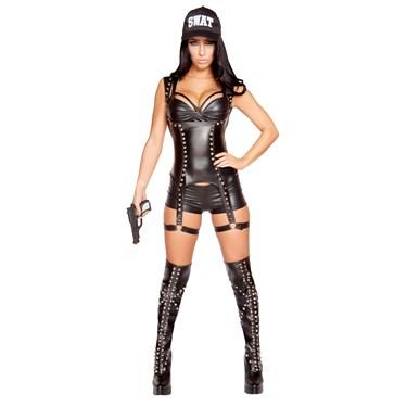 Sexy Seductive SWAT Agent Costume