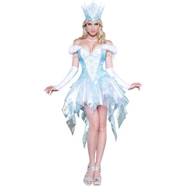 Sexy Snow Queen  Womens Dress Costume