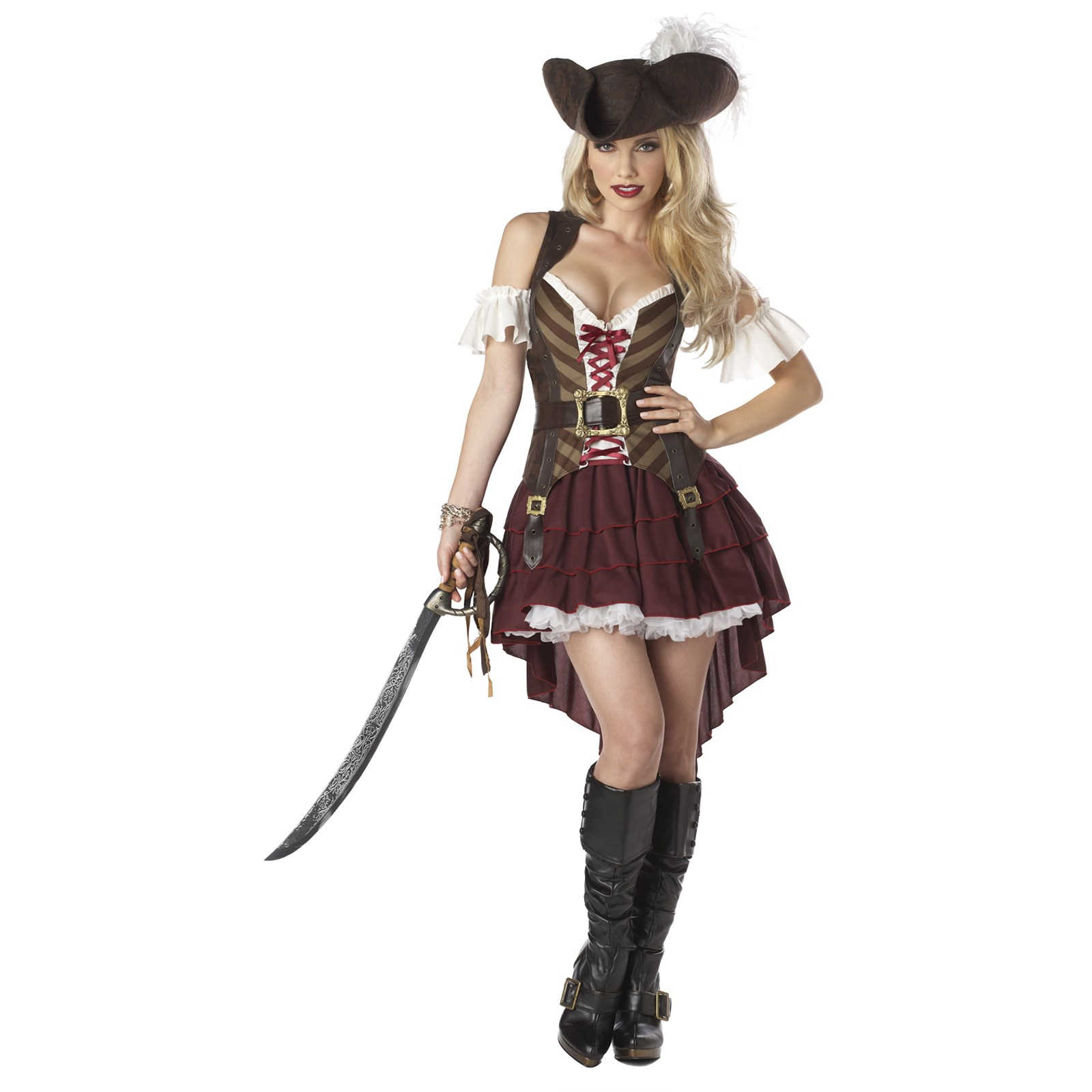 sexy swashbuckler adult costume. Black Bedroom Furniture Sets. Home Design Ideas