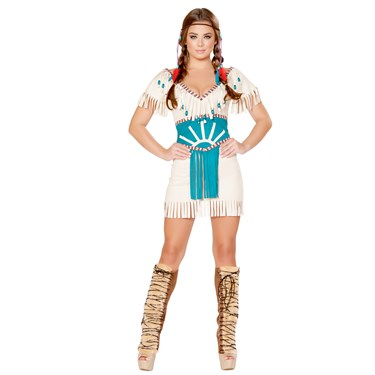 Sexy Tribal Babe Costume