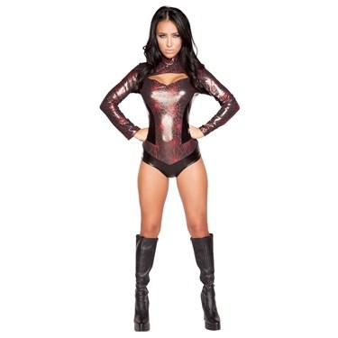 Sexy Webbed Warrior Costume