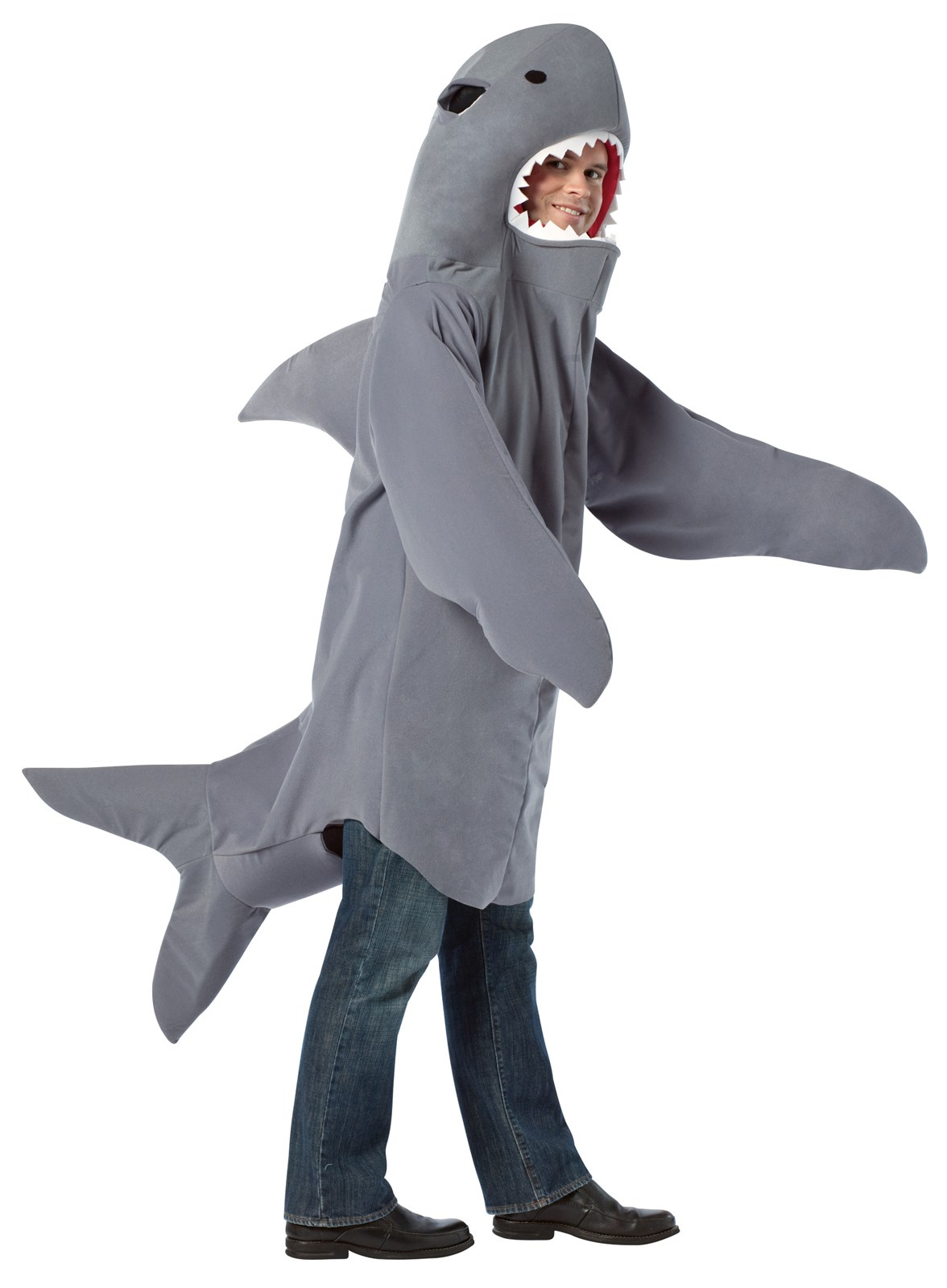 Shark adult costume for Fish costume for adults