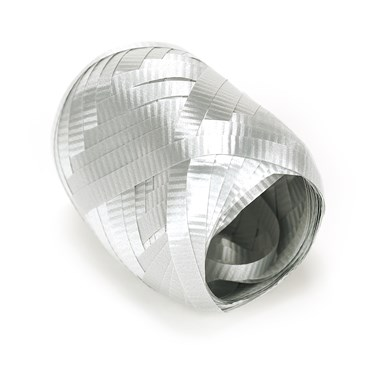 Shimmering Silver (Silver) Curling Ribbon - 50'