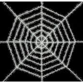 Shimmering White Decorating Web