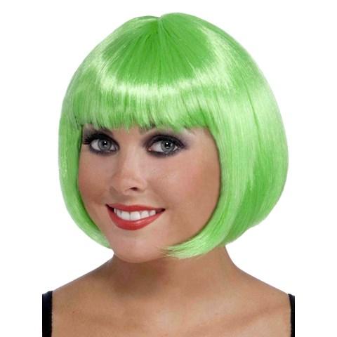 Short Bob Green Wig
