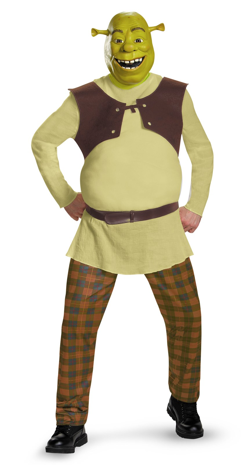Shrek Deluxe Plus Costume For Adults