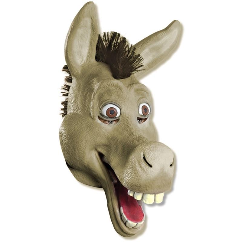 Shrek Forever After - Donkey 3/4 Vinyl Adult Mask