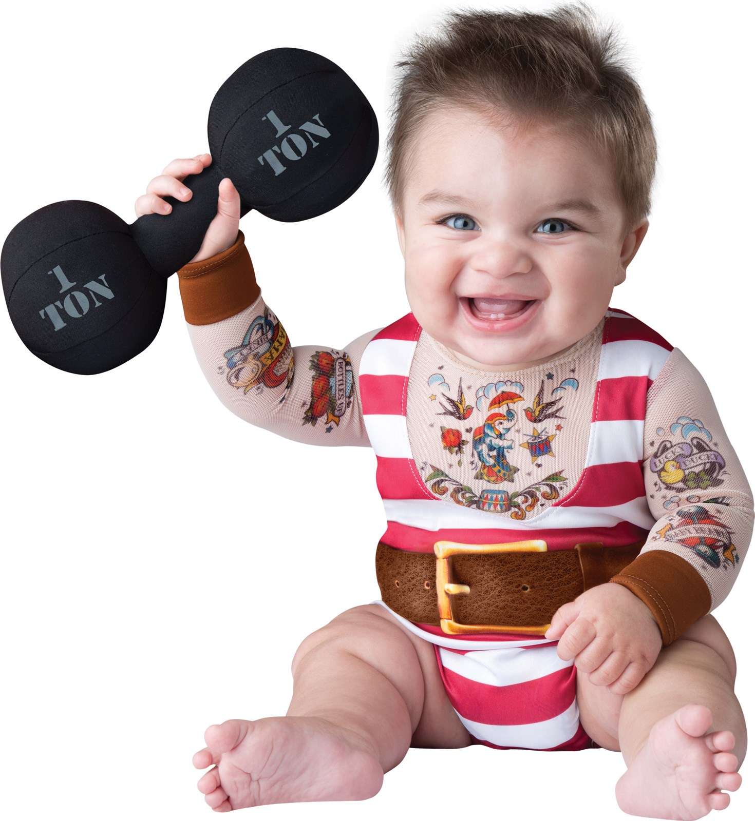 Silly Baby Strongman Costume