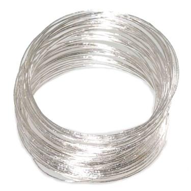 Silver Bangle Bracelets Adult