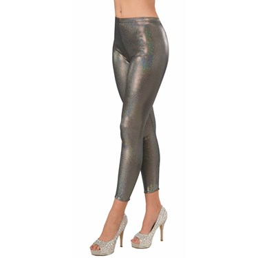 Silver Leggings - Adult Standard