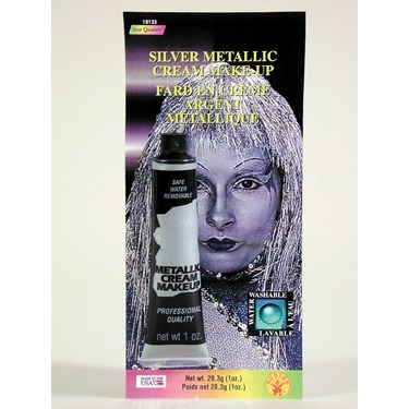 Silver Metallic Cream Make-up