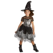 Silver Rock Witch Child Costume