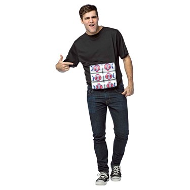 Six Pack Adult T-Shirt