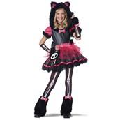 Skelanimals Deluxe Kit the Kat Child Costume
