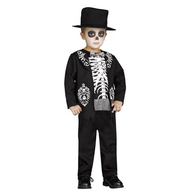 Skeleton King Toddler Costume