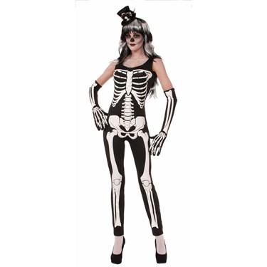 Skeleton Suit Adult Costume