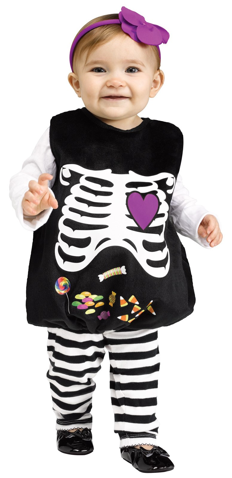 Skelly Belly Costume For Toddlers
