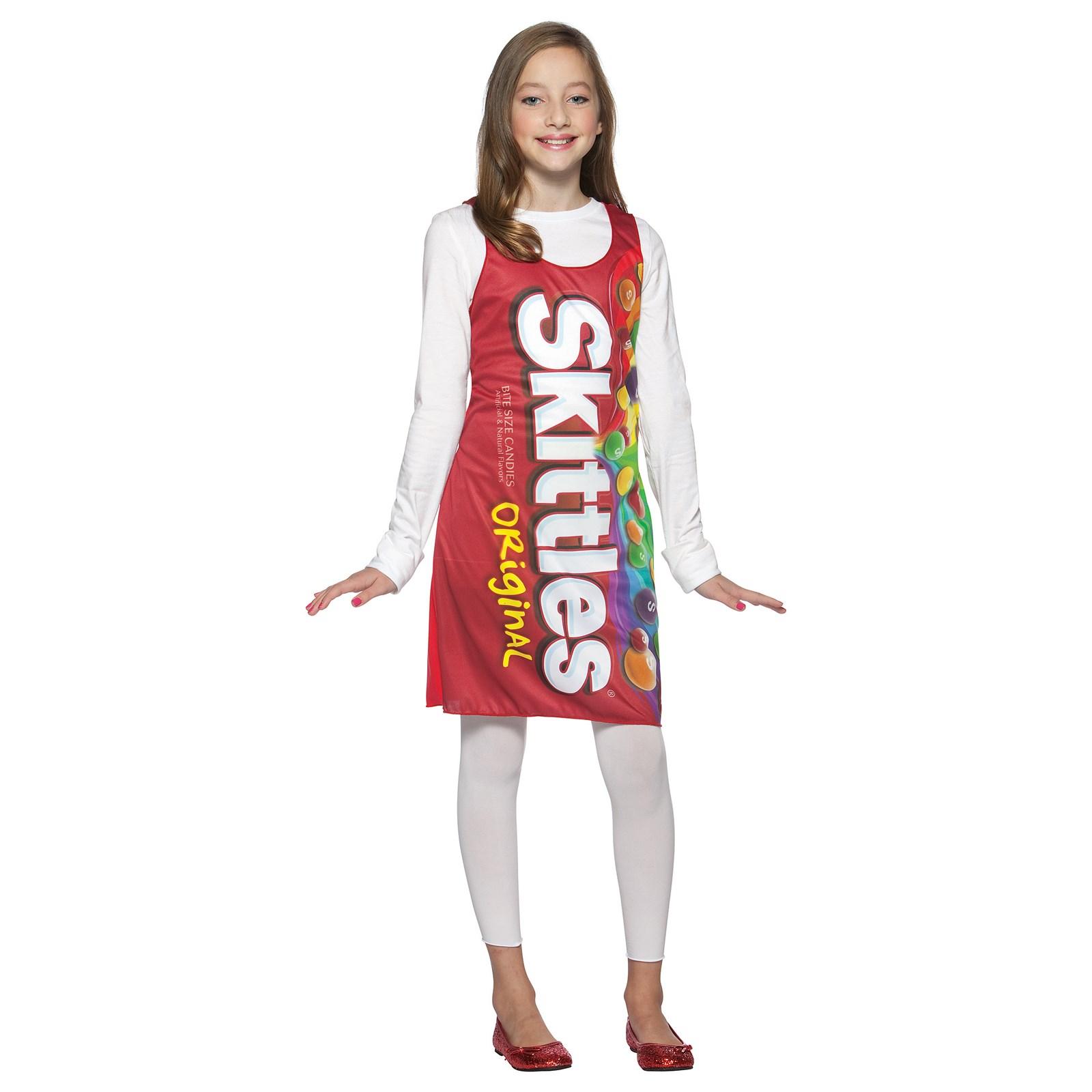 Skittles Tank Dress Tween/Teen Costume | BuyCostumes.com