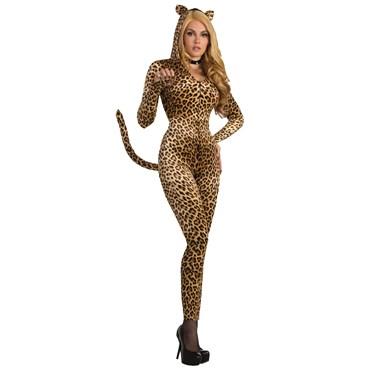 Sly Leopard Adult Jumpsuit