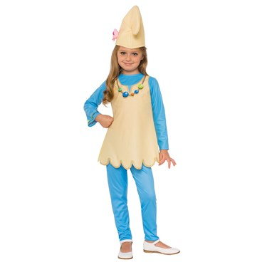 Smurf's The Lost Village Blossom Smurf Child Costume
