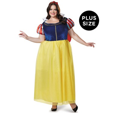 Snow White Deluxe Adult Plus Costume