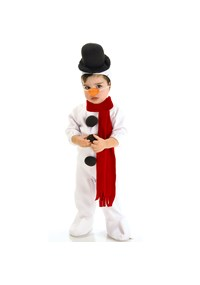Click Here to buy Snowman Baby & Toddler Costume from BuyCostumes