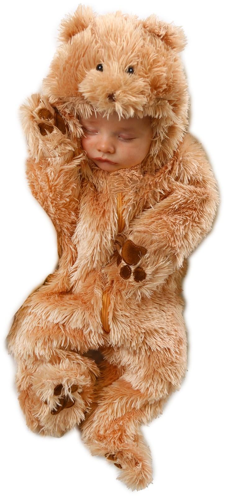 Snuggle Bear Jumpsuit Infant Costume