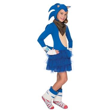Sonic Boom: Girls Sonic Costume