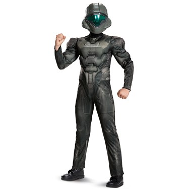 Spartan Buck Classic Muscle Child Costume