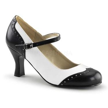 Spectator Maryjane Womens Flapper Shoes