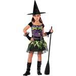 Spellcaster Witch Child Costume