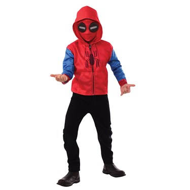 Spider-Man Boys Hoodie and Mask Set