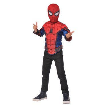 Spider-Man Boys Muscle Chest Shirt Set