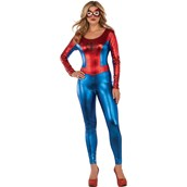 Spidergirl Female Adult Bodysuit