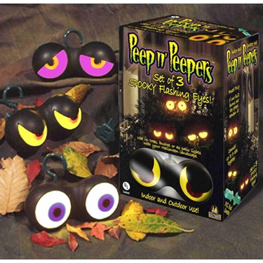 Spooky Flashing Eyes Asst. (set of 3)