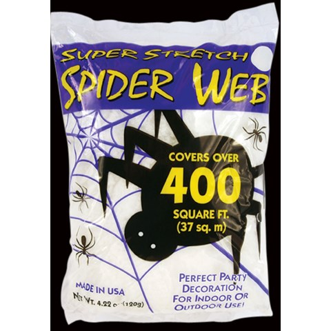 Spooky Spider Web (400 Square Feet)