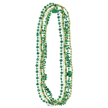 St. Patrick's Day Beads (Pack of 5)