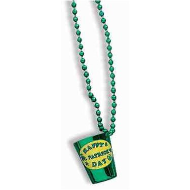 St. Patrick's Shot Glass Beads